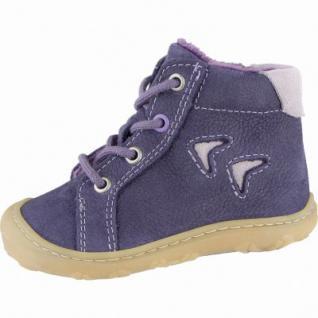 Pepino Georgie Mädchen Leder Winter Lauflern Boots blackberry, Warmfutter, warmes Fußbett, 3239113