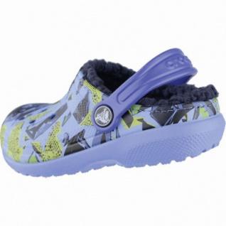 Crocs Classic Lined Graphic Clogs Kids Mädchen, Jungen Winter Crocs ocean, Warmfutter, warmes Fußbett, 4339107 - Vorschau 2