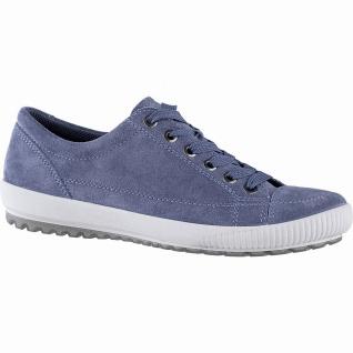 Legero Damen Komfort Leder Sneakers indaco, herausnehmbares Legero Leder Fußb...