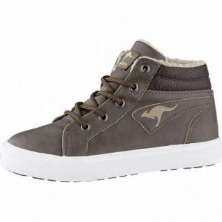 Kangaroos KaVu I Jungen Synthetik Boots brown, 8 cm Schaft, Warmfutter, warmes Fußbett, 3741253