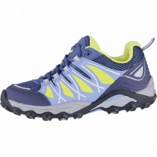 Meindl Turn Junior leichte Jungen Velour-Mesh Trekking Schuhe petrol, Air-Active Best-Fit-Fußbett, 4440103