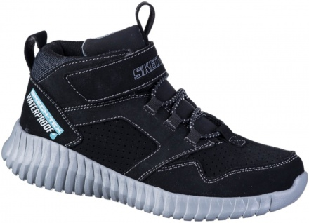 SKECHERS Elite Flex Hydrox Jungen Boots schwarz, waterproof, Skechers Air Coo...
