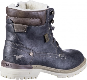 MUSTANG Jungen Winter Synthetik Tex Boots graphit, Warmfutter, warme Decksohle - Vorschau 2