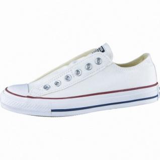 Converse Chuck Taylor All Star Slip Low weiß, Damen, Herren Canvas Chucks, 4234122