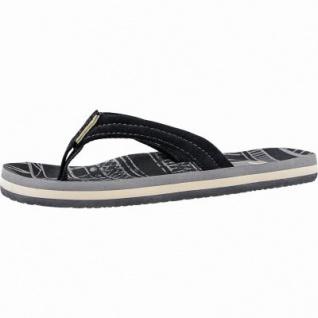 Reef Little Ahi coole Mädchen Synthetik Pantoletten black, weiches Fußbett, 3540104