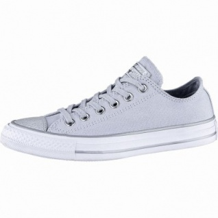 Converse CTAS - Metallic Toecap - OX coole Damen Canvas Metallic Sneakers platinum, Converse Laufsohle, 1240117/36