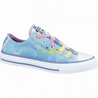Converse CTAS Chuck Taylor All Star Loopholes Mädchen Canvas Sneaker moody/purple/cactus/ blossom/Po, Textilfutter, 3336132/32