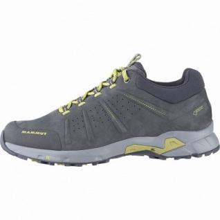 Mammut Convey Low GTX Men Leder Outdoor Schuhe graphite, Base Cage für Trittsicherheit + Komfort, 4441168/7.0