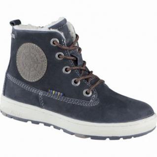 Lurchi Doug Jungen Winter Leder Tex Boots atlantic, Warmfutter, Fußbett, breitere Passform, 3739120