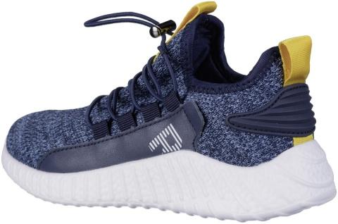 RICHTER Jungen Strick Sneakers atlantic, mittlere Weite, softes Leder Fußbett - Vorschau 2