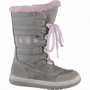 Lurchi Alpy Mädchen Leder Winter Tex Stiefel miste, Warmfutter, warmes Fußbett, 3739121