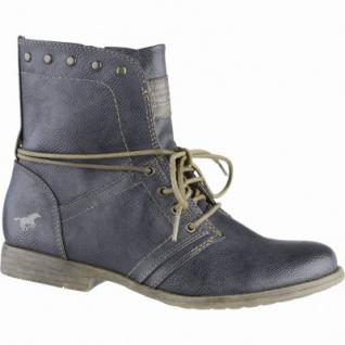 Mustang coole Damen Synthetik Boots graphit, leichtes Futter, weiche Decksohle, 1639106