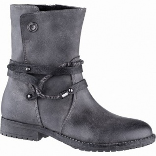 Marco Tozzi Mädchen Winter Synthetik Stiefel grey, 17 cm Schaft, Warmfutter, warme Decksohle, 3741200/39