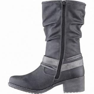 bruno banani modische Damen Synthetik Winter Stiefel schwarz, 24 cm Schaft, Warmfutter, warme Decksohle, 1641222/37 - Vorschau 2