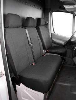 Passform Transporter Sitzbezüge VW LT, passgenauer Stoff Sitzbezug Einzelsitz...