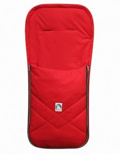 Baby Sommer Fußsack mit Baumwolle rot, waschbar, für Kinderwagen, Buggy, ca. ...