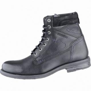 SchwarzMikrofleecefutter Coole Leder Herren Boots Dockers DWIEY2H9