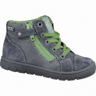 Indigo Jungen Leder Winter Tex Boots grey, Warmfutter, gepolstertes Fußbett, 3237118