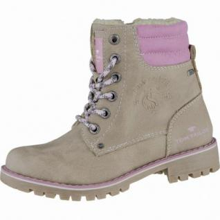 TOM TAILOR Mädchen Winter Synthetik Tex Boots beige, Warmfutter, 3739204