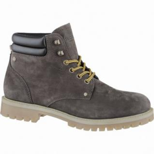 Jack&Jones Stoke coole Herren Leder Winter Boots java, Warmfutter, modische Profilsohle, 2539113