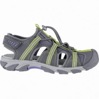 Superfit sportliche Jungen Synthetik Trekking Sandalen stone, mittlere Weite, weiches Fußbett, 3540138