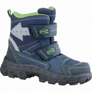 Richter Jungen Winter Tex Boots atlantic, mittlere Weite, molliges Warmfutter, warmes Fußbett, 3737181/25