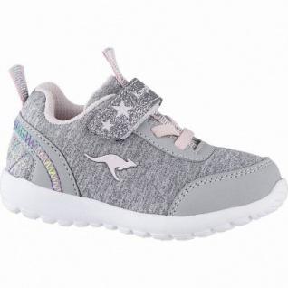 Kangaroos Citylite EV coole Mädchen Synthetik Lauflern Sneaker vapor grey, Meshfutter, herausnehmbare Decksohle, 3042118/21