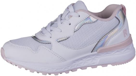 RICHTER Mädchen Mesh Sneakers white, mittlere Weite, herausnehmbare Einlegesohle