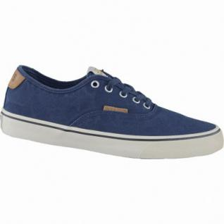 Jack&Jones JJ Surf Cotton Low Herren Canvas Sneaker blau, Einlegesohle, 2134209/44