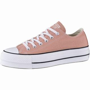 Converse Chuck Taylor All Star Lift - Ox Damen Canvas Sneakers desert peach, ...