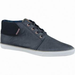 Jack&Jones JFW Vertigu PU Herren Synthetik Sneakers anthracite, gepolstertes Canvasfutter, 2537164/40