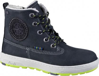 LURCHI Doug Jungen Winter Leder Boots black, breitere Passform, Tex Ausstattung