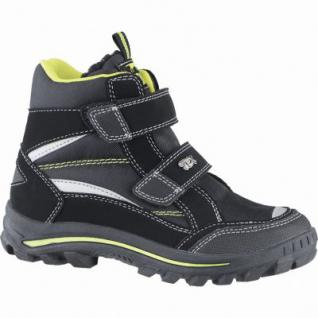 Indigo Jungen Winter Synthetik Tex Boots black, Warmfutter, warmes Fußbett, 3739169