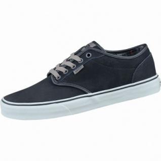 Vans Atwood Herren Winter Synthetik Sneakers flannel black bungee, Warmfutter, Vans-Decksohle, 2137101
