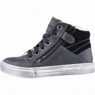 Richter Jungen Winter Boots black, mittlere Weite, molliges Warmfutter, warmes Fußbett, 3741236/34