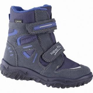 Superfit Jungen Winter Synthetik Tex Boots ozean, 10 cm Schaft, Warmfutter, warmes Fußbett, 3739144/34