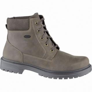 Jomos Herren Leder Winter Boots choco, Extra Weite, 14 cm Schaft, Lammfellfutter, warmes Fußbett, 2539116/43