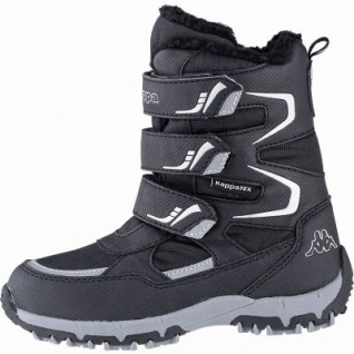 Kapppa Great Tex Jungen Synthetik Winter Tex Boots black, 14 cm Schaft, Warmfutter, warmes Fußbett, 3741122