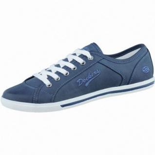 Dockers coole Damen Synthetik Sneakers dunkelblau, Dockers-Laufsohle, 1238193