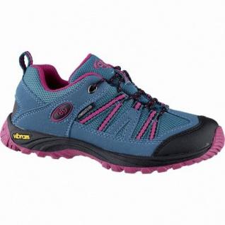 Brütting Ohio Low Mädchen Nylon Comfortex Trekking Schuhe türkis, Textilfutter, auswechselbare Textil Einlegesohle, 4442132/30