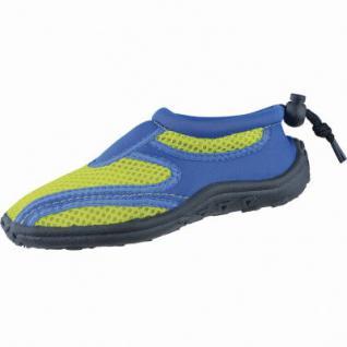 Beck Aqua Mädchen, Jungen Textil Wasserschuhe, Badeschuhe blau, schnelltrocknendes Textil, 4338101/23