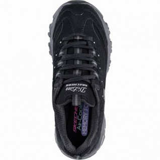 Skechers D Lites New Journey coole Damen Synthetik Sneakers black, Air-Cooled Memory Foam-Fußbett, 4142142/36 - Vorschau 2