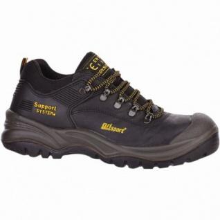 Grisport Asiago S3 Herren Leder Sicherheits Schuhe schwarz, DIN EN 345/S3, 5530103/42