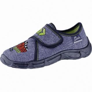 Beck Race Jungen Textil Hausschuhe jeans, weiche Laufsohle, 3840114/27