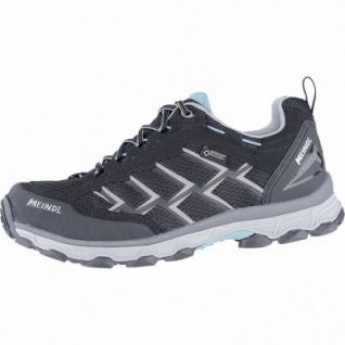 Meindl Activo Lady GTX Damen Velour-Mesh Trekking Schuhe schwarz, Air-Active-Wellness-Sport-Fußbett, 4440111/4.0