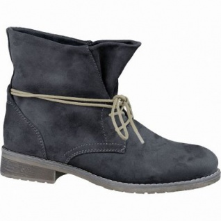 Jane Klain trendige Damen Synthetik Boots grau, Kaltfutter, warme Super-Soft-Decksohle, 1637263
