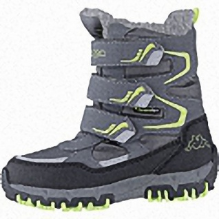 Kapppa Great Tex Jungen Synthetik Winter Tex Boots grey, 14 cm Schaft, Warmfutter, warmes Fußbett, 3741121/29