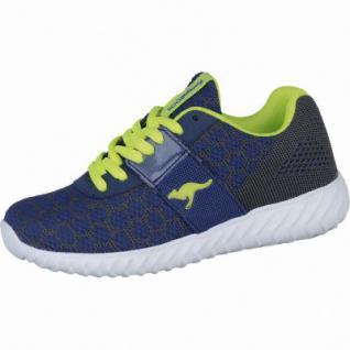 Kangaroos KaBoo Jungen Synthetik Sneakers navy, Kangaroos Fußbett, 4238104