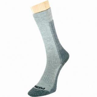 Meindl Damen, Herren Trekking Socken grau, Cool Max mit Baumwolle, 6599212/S (Gr. 36-39)