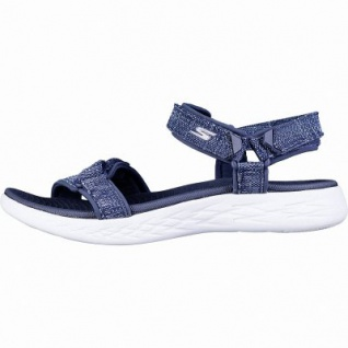 a609615b790588 Skechers On-The-GO 600 Radiant sportliche Damen Synthetik Sandalen navy